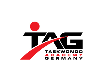 TAG (Taekwondo Academy Germany) logo design
