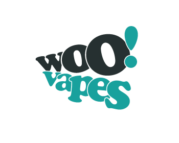 Woo! Vapes logo design