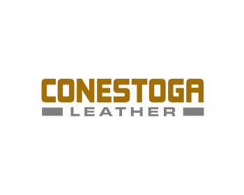 Conestoga Leather logo design