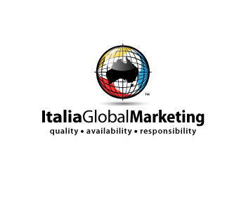 Italia Global Marketing logo design