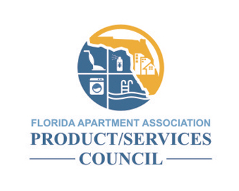 Florida Apartment Association Product/Services Council logo design