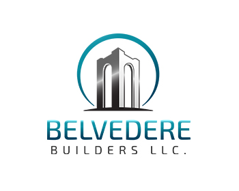 Belvedere Builders llc. logo design