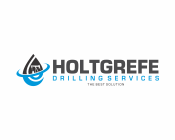 Holtgrefe Drilling Services logo design