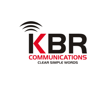 KBR Communications logo design