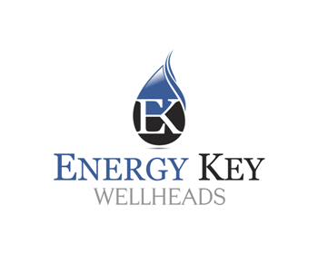 Energy Key Wellheads logo design