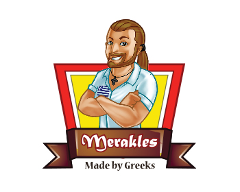 Restaurant logo design for Merakles