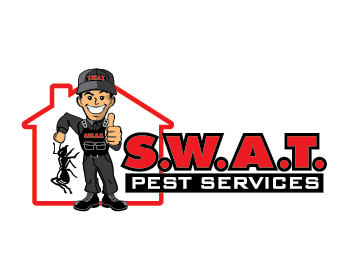 Swat pest services logo design