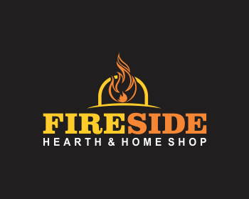 Logo Wettbewerb Fireside Hearth And Home Shop