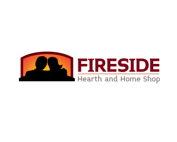 Fireside Hearth And Home Shop Logo Design Contest Logo