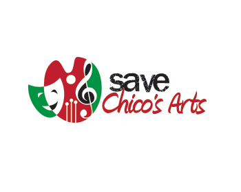 Logo design for Save Chico's Arts
