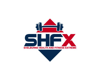 Shelburne Health and Fitness Extreme logo design