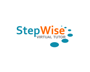 StepWise Virtual Tutor logo design