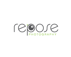 Repose Photography logo design