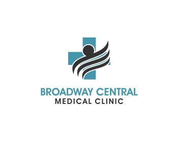 Broadway Central Medical Clinic logo design