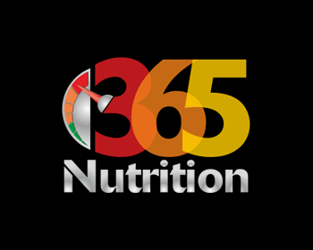 365 Nutrition logo design