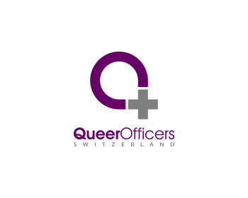 QueerOfficers Switzerland logo design
