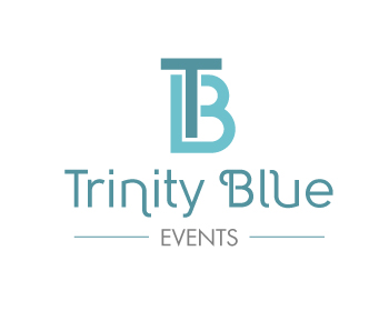 Trinity Blue Events logo design