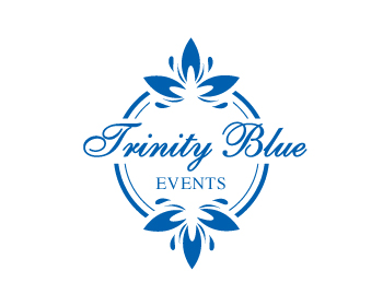 Logo design for Trinity Blue Events