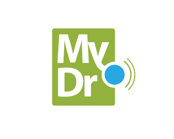 MyDr.care logo design