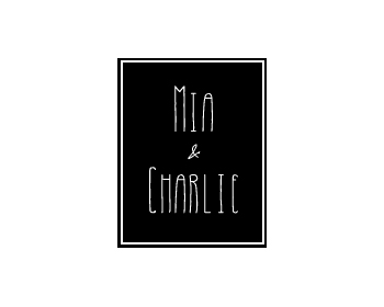 Mia&Charlie logo design