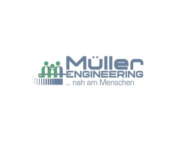 Engineering Müller logo design