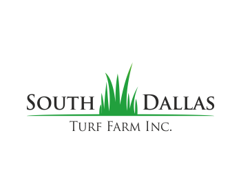 South Dallas Turf Farm Inc. logo design