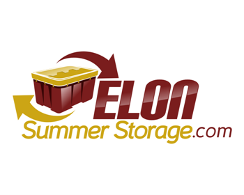 Elon Summer Storage logo design