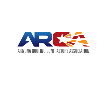 Arizona Roofing Contractors Association logo design