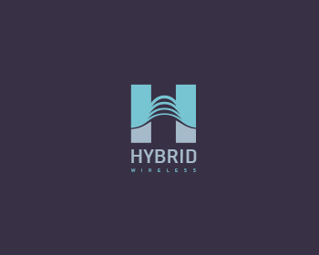 Hybrid Wireless logo design
