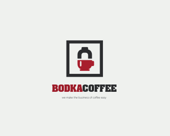 Bodka Coffee Company logo design