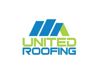 United Roofing logo design