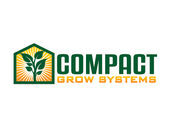 Logo design for Compact Grow Systems