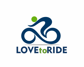 Love to Ride logo design