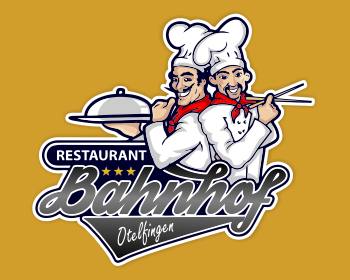 Logo design for Restaurant Bahnhof