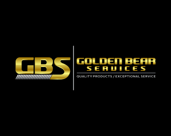 Golden Bear Services LLC logo design