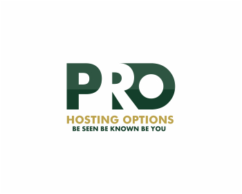 Pro Hosting Options logo design