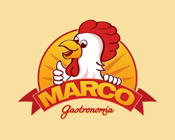 Logo design for Gastronomia Marco