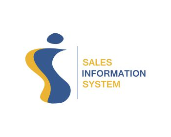 sales information system logo design