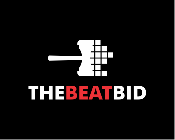 The Beat Bid logo design