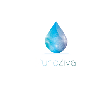 Pure Ziva logo design
