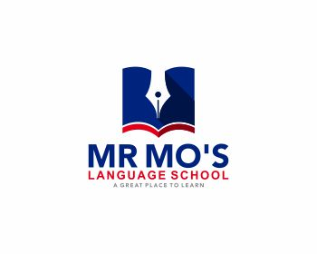 MR MO'S LANGUAGE SCHOOL logo design