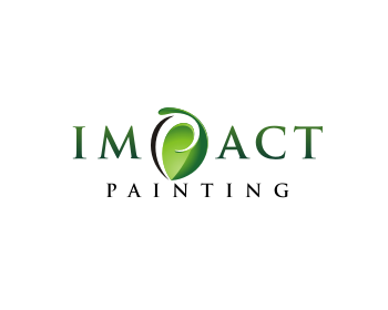 Impact Painting logo design