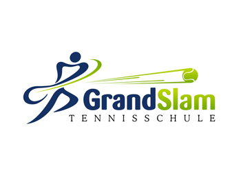 Grand Slam - Tennisschule logo design