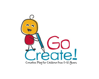 Go Create! logo design