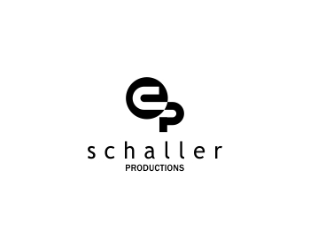 Schaller Productions logo design