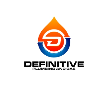 Definitive Plumbing and Gas logo design
