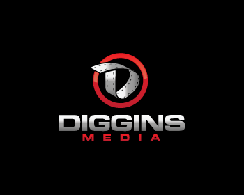 Logo design for Diggins Media