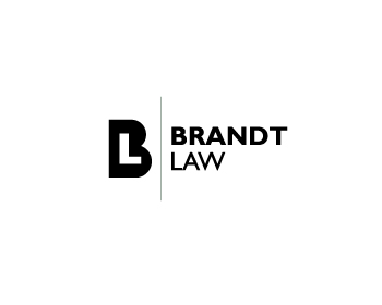 Brandt Law logo design
