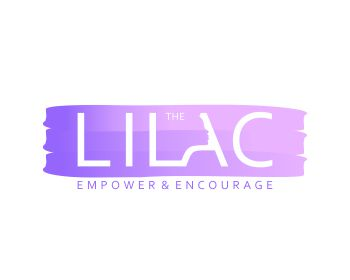 The Lilac logo design