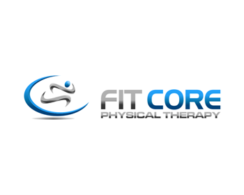 Fit Core Physical Therapy logo design